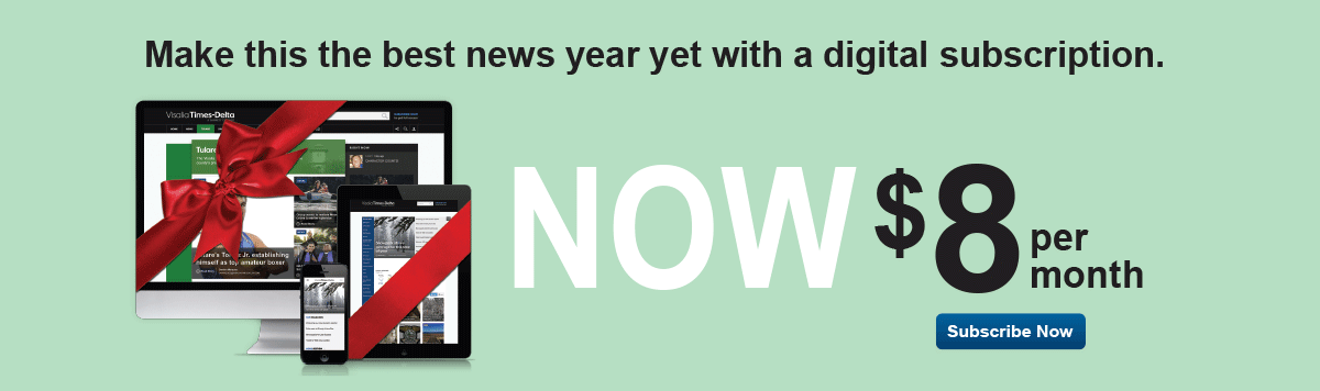 Make this the best news year yet with a digital subscription. Now $8 per month.
